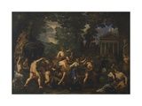 The Triumph of Bacchus Giclee Print by Pietro da Cortona