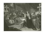 The Trial of Catherine of Aragon, 1529 Giclee Print by George Henry Harlow
