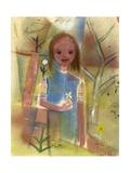 Child with a Dove, C.1940-45 Giclee Print by Anneliese Everts