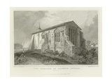 The Remains of Dunmow Priory, Essex Giclee Print by Thomas Mann Baynes