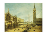The Piazza San Marco, Venice Giclee Print by Michele Marieschi