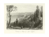 Cemetery and Mosque of Ayub, Constantinople Giclee Print by William Henry Bartlett
