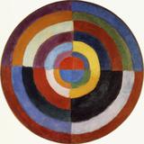 Le disque, 1912 Reproduction procédé giclée par Robert Delaunay