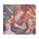 The Concert of Angels, 1534-36 Giclée-tryk af Gaudenzio Ferrari