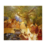 The Visit of the Princess Royal Giclee Print by Gaston De Latouche