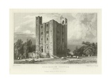 Hedingham Castle, Essex Giclee Print by William Henry Bartlett