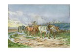 Homeward Bound Giclee Print by Charles James Adams