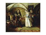 The Introduction, 1868 Giclee Print by Konstantin Egorovich Makovsky