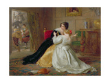The Alarm, 1867 Giclee Print by Edward Hughes