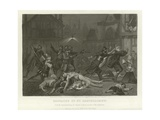 Massacre of St Bartholomew Giclee Print by Alonzo Chappel