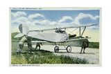 Scene at Kelly Fields, Us Army Aviation Airfield Giclee Print