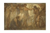 Horses of Sun, 1907 Giclee Print by Adolfo de Carolis
