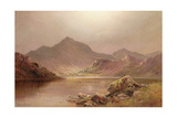 Mount Snowdon Giclee Print by Alfred De Breanski
