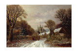 Gretton, Northamptonshire Giclee Print by Charles Leaver