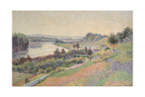 The Seine at Herblay, 1890 Giclee Print by Maximilien Luce