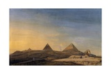Pyramids of Menfis, 1798 Giclee Print by Charles-Louis Balzac
