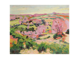 Valley of the Sedelle, 1916 Giclee Print by Armand Guillaumin