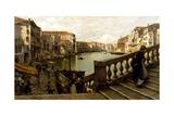 Grand Canal Giclee Print by Guglielmo Ciardi