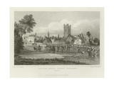 Easton, Near Great Dunmow, Essex Giclee Print by Thomas Mann Baynes