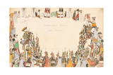 Warriors Dance War Dance, 1874-75 Giclee Print