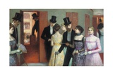 Soiree at the Opera, C.1900 Giclee Print by Ernest Rouart