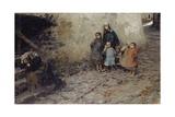 School of Suffering, 1895 Giclee Print by Luigi Rossi