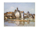 The Bridge at Moret, 1892 Giclee Print by Alfred Sisley