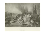 The Last Day of Corinth Giclée-Druck von Tony Robert-fleury