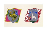 Coats of Arms for Palio of Siena for Drago Giclee Print