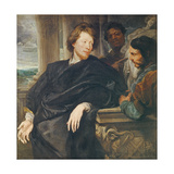 Portrait of Rubens Giclee Print by Sir Anthony van Dyck