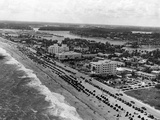Aerial View of Fort Lauderdale Beach, 1950 Photographic Print