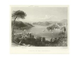 Straits of the Bosphorus Giclee Print by William Henry Bartlett
