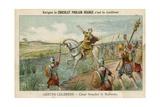 Julius Caesar Crossing the Rubicon, 49 BC Giclee Print