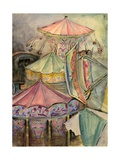 Carousel Giclee Print by Anneliese Everts