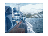 Leaving Scapa Flow Giclee Print by Eric Ravilious