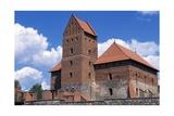 Gothic Castle of Trakai Giclee Print