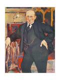 Portrait of Monsieur Mori, 1922 Giclee Print by Marie Clementine Valadon