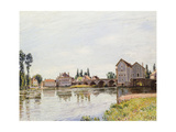 The Loing Below the Pont De Moret, 1892 Giclee Print by Alfred Sisley