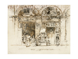 Sunflowers, Rue Des Beaux-Arts, C.1892-93 Giclee Print by James Abbott McNeill Whistler