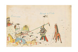 Pawnees and Heap of Birds, 1874-75 Giclee Print