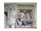 Naked Prisoners Giclee Print by Giovanni Antonio Fasolo