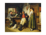 Figures in an Interior, 1891 Giclee Print by Hugo Kauffmann