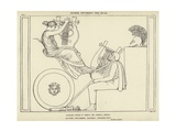 Homer Invoking the Muse Giclee Print by John Flaxman