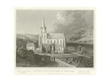 Church of the Virgin Mary at Oberwesel Giclee Print by William Tombleson