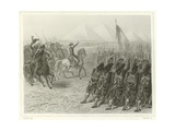 Battle of the Pyramids Giclee Print by Denis Auguste Marie Raffet
