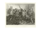 Death of General Wolfe Giclee Print by Benjamin West