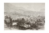 Overall View of Bogota, Colombia Giclee Print by  English School