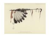 The White Feathered Stem Lámina giclée