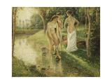 Bathers, 1896 Reproduction procédé giclée par Camille Pissarro