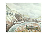 New Year Snow, 1935 Giclee Print by Eric Ravilious